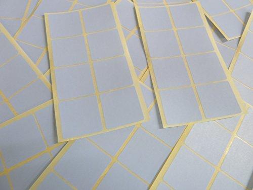 26mm (1 Pulgadas) Cuadrado Pálido Azul Cielo Código De Color Adhesivos, 96 auta-Adhesivo Cuadrados adhesivo Etiquetas De Colores