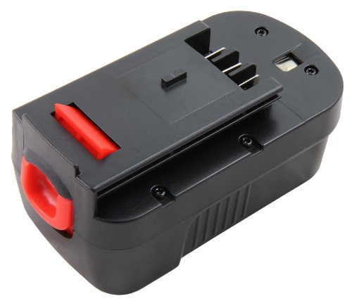 Mitsuru® 3000mAh NI-MH 18V Akku Batterie für Black & Decker A18 FS180BX FSB18 NST2118 NST2018 XTC183BK XTC18BK CDC18GK2 EPC18CABK HP188F2B 244760-00 A1718 A18 (Und Black Decker Radio)