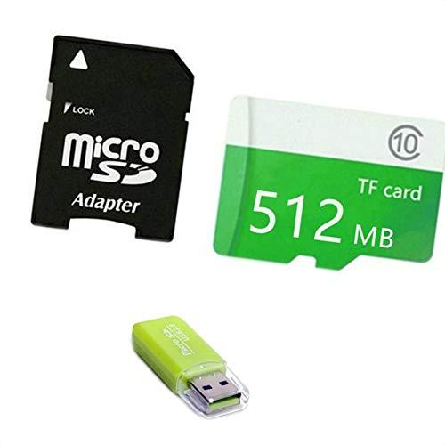 B / 512MB / 1GB / 2GB / 4GB / 8GB / 16GB / 32GB / 64GB / 128GB Micro SD-Karte Smartphone Tablet Kamera-Speicherspeicherkarte ()
