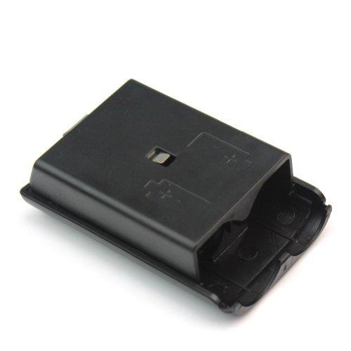 BeautyLife & # x24C7; NEU Akku Pack Cover Shell Schutzhülle Shield Case für Xbox 360Wireless Controller Schwarz (Xbox 360 Cover Pack)