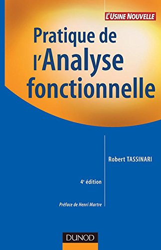 Pratique de l'Analyse fonctionnelle par Robert Tassinari