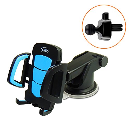 LilBit Supporto Auto Smartphone, 2 in 1 supporto Universal Air