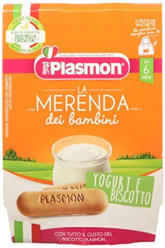 Plasmon Merenda Yogurt Biscotto Pacco da 12 x 240 gr