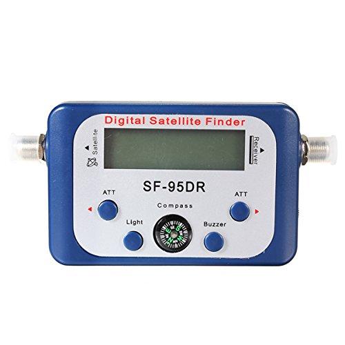 DyNamic SF-95DR Digitales Satelliten Signal Meter Finder Netzwerk Directv