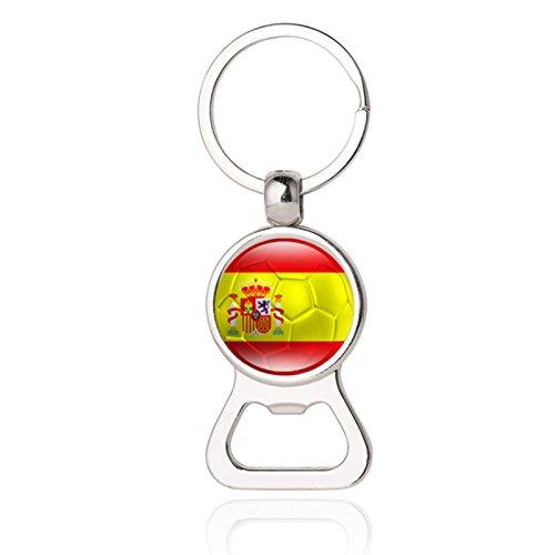 Modeschmuck Aus Spanien - Mini Bierflaschenöffner Schlüsselanhänger für Herren, Modeschmuck
