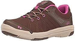 RYKA Womens Summit Walking Shoe, Earth Brown/Nutria/Dahlia Mauve/Doeskin, 5.5 M US