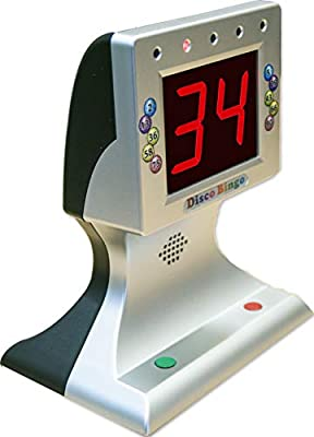 Disco Bingo Electronic Bingo Machine Music & Lights 1-75 & 1-90
