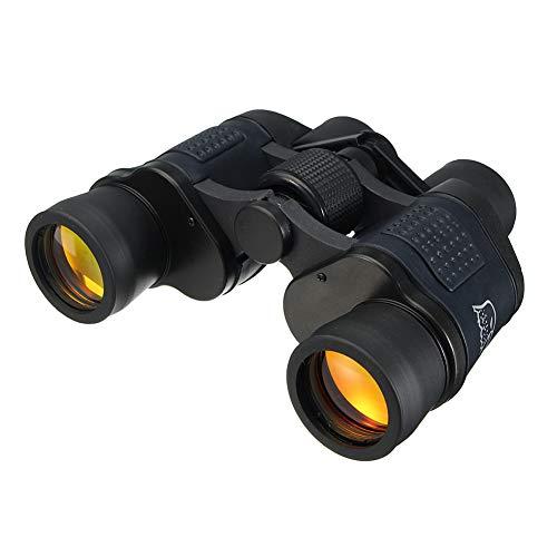 Dxlta Fernglas Teleskop 60x60 HD Nachtsicht 3000M Portable für Reise Jagd im Freien