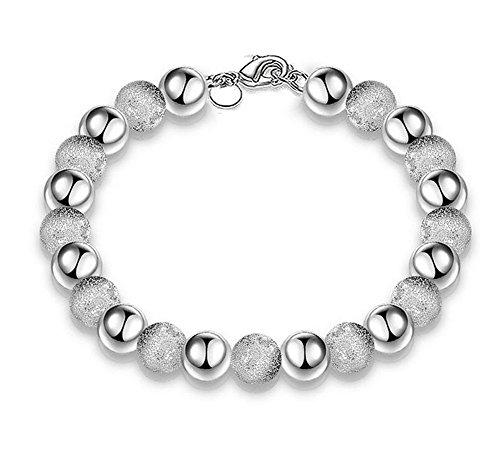 Hosaire Charm Fashion Elegane Sand Beads Silver
