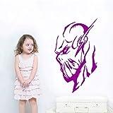 YuanMinglu Flash Head Hero Wandmalerei Coole Wohnkultur Schlafzimmer Wohnzimmer Wandaufkleber Vinyl...