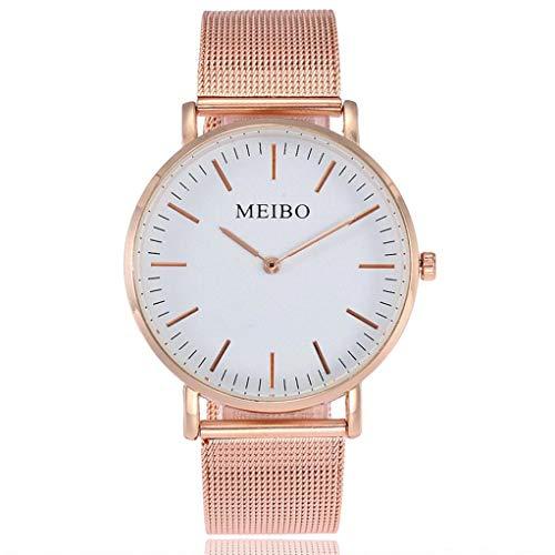 Kinlene Damen Urhen Beiläufige Quarz-Edelstahl Newv Bügel-Uhr-analoge Armbanduhr Uhren