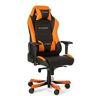 DX Racer Oh/IS11/No asiento Gaming Negro/Naranja