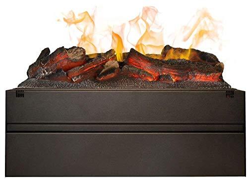 Bruciatore elettrico ad acqua da incasso per camini ruby fires mf1640c nero