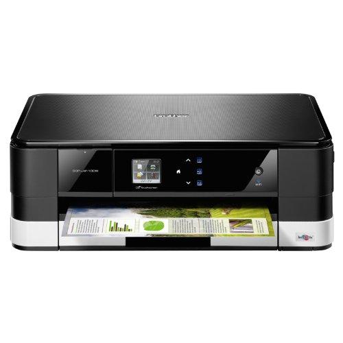 Brother-DCP-J4110DW-All-in-One-Multifunktionsgert-Farbdrucker-Scanner-Kopierer-USB-20-schwarzwei