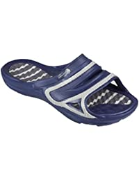 AQUA-SPEED Hommes pantoufles/sandales chaussures de plage - très facile