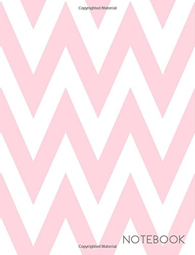 (Notebook: Pink Chevron Zig Zag Pattern Notebook Journal (8.5 x 11))
