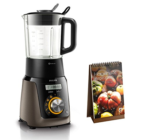 Philips HR2199/00 Hochleistungsmixer mit 32.000 U/min für feine Smoothies Smart-ice-maker
