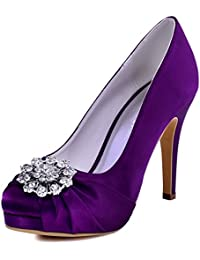 Amazon.co.uk: Purple - Court Shoes / Women's Shoes: Shoes & Bags