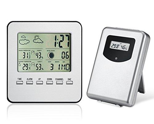 midwec-termmetro-higrmetro-inalmbrico-interior-exterior-prediccin-meteorolgica-sensor-de-humedad-y-r