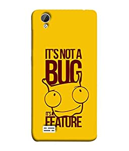 FUSON Designer Back Case Cover for Vivo Y31 :: Vivo Y31L (Illustration Inspiration Change Motivate )