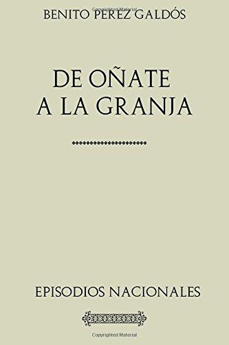 Descargar Libro Colección Galdós. De Oñate a La Granja de Benito Pérez Galdós