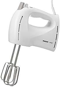 Philips HR1459/00 Sbattitore Elettrico con ganci per impasti, 300 W - Daily Collection -