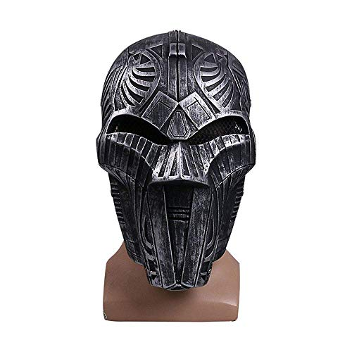 YaPin Star Wars COS Sith Lord Maske Spiegel Film Halloween Requisiten Lehrling Helfer Assistent