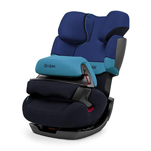 CYBEX Silver 2-in-1 Kinder-Autositz Pallas, Gruppe 1/2/3 (9-36 kg), Ab ca. 9 Monate bis ca. 12 Jahre, Ohne ISOFIX, Blue Moon