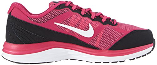 Nike Dual Fusion Run 3 Gs, Chaussures de Running Fille Rose (hot Pink/white-black-fireberry 600)