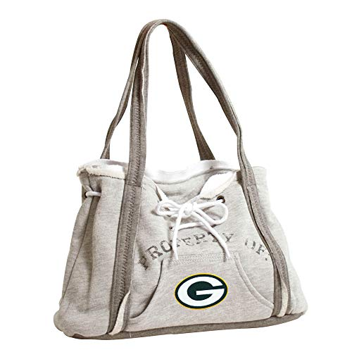 Littlearth NFL Hoodie Geldbörse, Green Bay Packers, Gray -