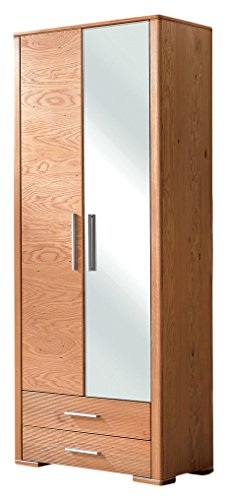 BFK Möbel Collection Malibu Dielenschrank Holz braun 40x83x195 cm