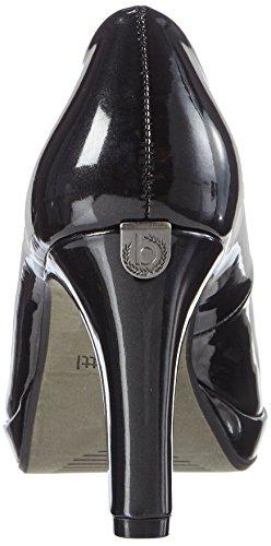 Bugatti V4964pr6l, Scarpe con Tacco Donna Nero (Nero 100)