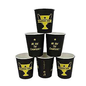 Lot 100 Gobelets carton écologique 24CL 100 Gobelets papier Recycups® CHAMPIONS CUP