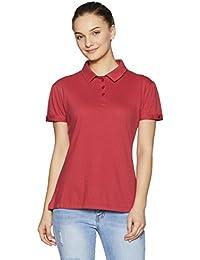 Style Quotient By Noi Women's Plain Regular Fit T-Shirt
