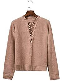 New Ladies 'Pierced suéteres