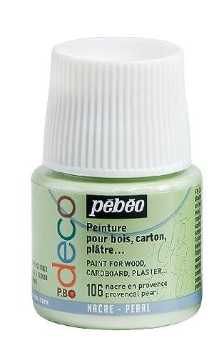 Deco Peinture - Pébéo 285106 Déco Acrylique 1 Flacon Nacre