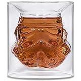Lot de 2 verres transparents motif Stormtrooper - 150ml