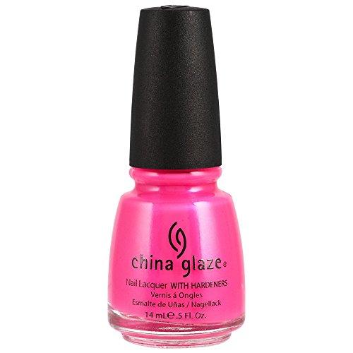 China Glaze Nagellack, Neon Pink Voltage, 14ml (China Nagellack)