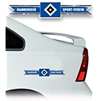 AUTO AUFKLEBER STICKER HAMBURGER SV HSV Banderole mittel