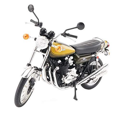 KKD Escala Modelo Simulación Vehículo Modelo de motocicleta de colec