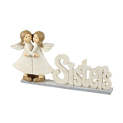 Schwestern Engel Kaminuhr Plaque Geschenk