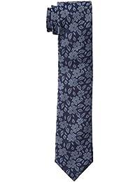 Tommy Hilfiger Men's Oxford Floral Print Slim Tie