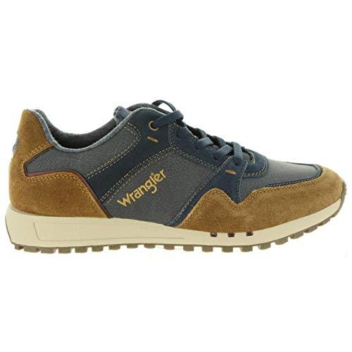 WRANGLER Chaussures de Sport pour Homme WM182120 Beyond Cognac