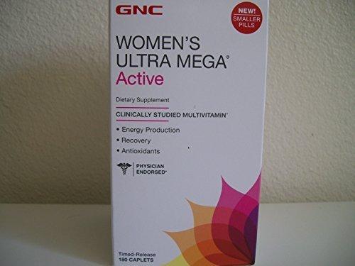 gnc-womens-ultra-mega-active-180-caplets-new-formula-by-gnc