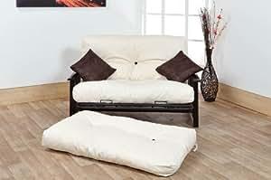 Humza Amani Ashton 2 Seater Futon Sofa Bed 4ft Small