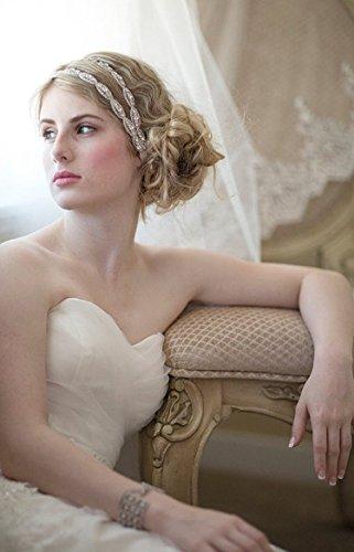 Zoom IMG-2 tininna elegante nuziale matrimonio cristallo