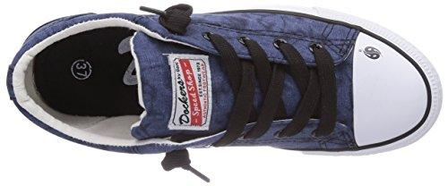 Dockers by Gerli  36AY61, Baskets hautes mixte enfant Bleu - Blau (navy 660)