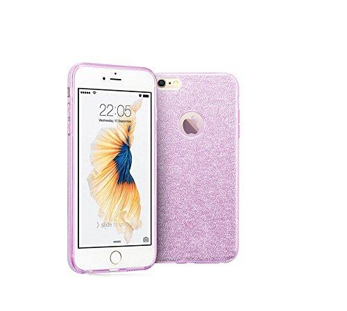 Yooky iphone 7 7S 4,7 Zoll Silikon Hülle Case Cover , Transparente weiche TPU klar kratzfest Schutzhülle Hülle Tasche Kasten Auto für Apple Iphone 7 Style 1