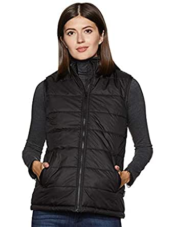 Amazon Brand - Symbol Women's Quilted Jacket (AW19KJ002_Black_XS)