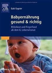 Babyernährung gesund & richtig: B(r)eikost und Fingerfood ab dem 6. Lebensmonat by Gabi Eugster (2005-07-14)